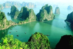Record de touristes  Ha Long